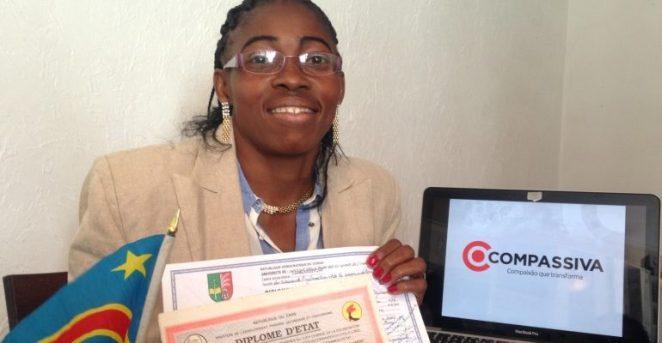 Cladine-Jornalista-refugiada-congolesa-770x400